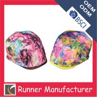 Wholesale Floral Printing Ivy Cap Flat Cap from china suppliers