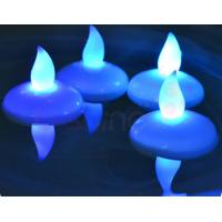 China Waterproof battery operated candles For Wedding Decoration on sale
