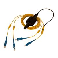 China Multi Mode OM2 Fiber Optic Patch Cable FC To FC Duplex Tracer Light Durable wholesale