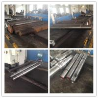 Quality Alloy Steel Pinion Forged Steel Shaft 40CrNiMo For Industrial Equipment for sale
