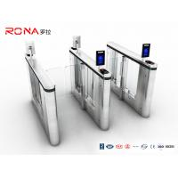 China Pedestrian Management Automated Gate Systems SUS304 Materials Speed Gate Turntiles Face Recogntion wholesale