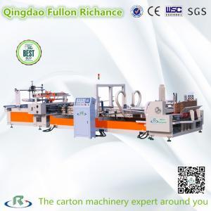 China High Speed ISO9001 Low Price Auto Folder Gluer Carton Box Making Machine wholesale