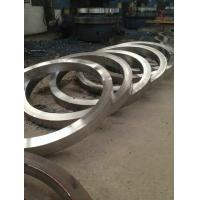 China Custom Rolled Ring Forging Stainless Steel Flange In Pressure Vessel Industry wholesale