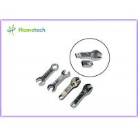 China Wrench Tool Metal Thumb Drives , Storage Custom USB Memory Stick for Gift wholesale