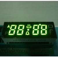 China Black Face Numeric LED Display , 7 Segment 4 Digit Display With 120C Operating Temperature wholesale