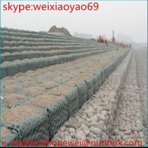 Gabion Wire Mesh/Gabion Cage/Gabion Wall (Factory)