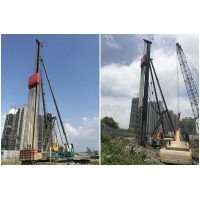China Fast Blow Rate Power Saving Vibratory Hammer Pile Driver wholesale
