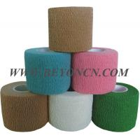 Buy cheap Hand Tear Self - adhesive Cotton Elastic Bandage To Control Varicose Veins from wholesalers