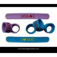China custom adjustable bulk cheap silicone wristband,silicon slap wristband wholesale
