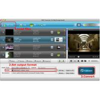 China MXF Converter for Mac can convert mxf to imove, final cut pro, mpg on mac on sale