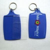 China photo keychain, eco acrylic/plastic materials, various shapes and sizes are available wholesale