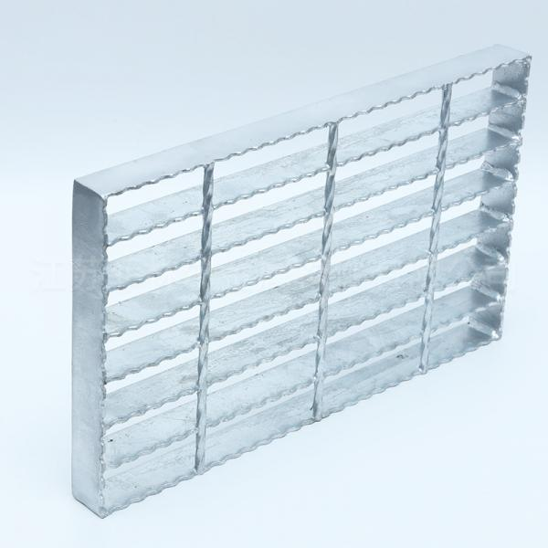 Quality Hot Dipped Galvanized Platform 6mm Serrated Grating for sale