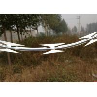 China Organization Units Razor Wire Fence 350 - 550 Mpa Tensile Strength Easy Installation wholesale
