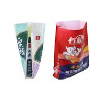China Chemical Granular Packaging Poly Woven Bags Double Stitched Environmental Friendly wholesale