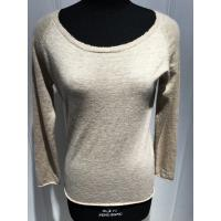 China Custom Ladies Raw Edge Sweater , Soft Pure Cashmere Women Warm Sweaters Pullover wholesale