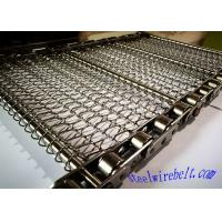 China Selected Stainless Steel Chain Mesh Conveyor Belt ,  Metal Mesh Belt Heat Treatment wholesale