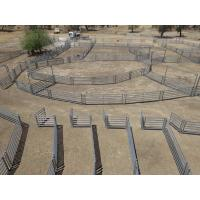 China 1.8 x 2.1M Heavy Duty Portable Corral Panels For Cattle  Yard Panel & Gate wholesale