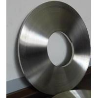 China Mill Glazed Stainless Steel Banding Straps With Surface Roughness 4μM-8μM on sale