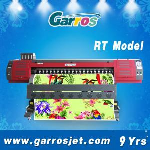 China Sublimation Fabric Printer T-shirt Textile Printing Machine Garros Brand 1.8m with DX5 Printhead wholesale