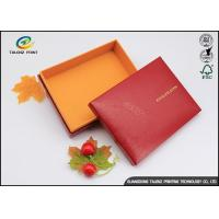 China Handmade Custom Cardboard Boxes With Lids Golden Covering For Chocolate wholesale