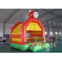 China Tiger Moonwalks Inflatable Obstacle Course Bouncy Castles Jumping Bouncer For Kids Outdoors Party wholesale