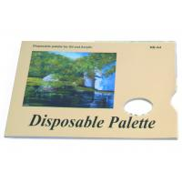China Acrylic / Oil Painting Pad Disposable Palette Type , Artist Drawing Pad 48 sheets 58gsm wholesale