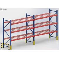 China Steel Heavy Duty Storage Wire Pallet Rack 100-5000kgs Load Capacity Powder Coated wholesale