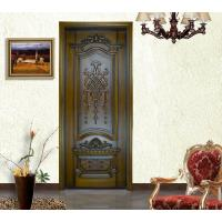 Quality 2015 new design high end customized timber door manufacturers China for sale