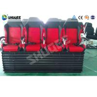 China Hydraulic 4DOF Motion Theater Chair With  Push Back /  Leg Tickle Effect wholesale