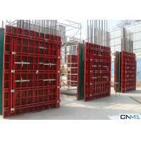 China Customized Size Wall Formwork System Various Material 65mm Thickness wholesale