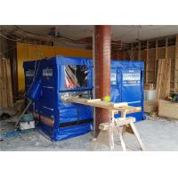 Buy cheap 4 layers +design temporary noise barriers 40dB noise insulation and absorbed from wholesalers