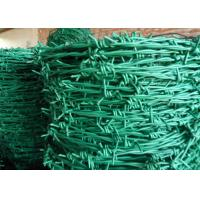 China Normal Twist / Reverse Twist Barbed Wire Fence 450mm - 960mm Diameter For Prisons on sale