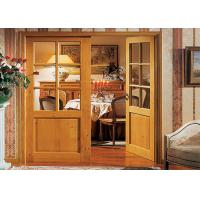 China Luxury Interior PVC Coated MDF Wood Composite Door For Rooms on sale