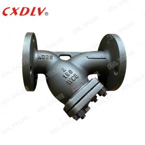 China Carbon Steel Flanged EndsY Strainer Valve With Mesh 80 PN16 RF wholesale