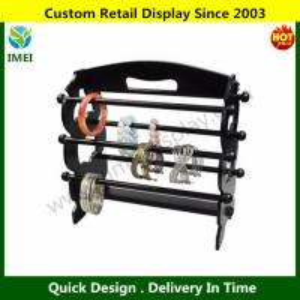 China Wooden Bangle Stand Bracelet Display Rack, Black YM6-064 wholesale