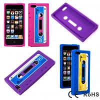 China Unique Design Silicone iPhone 5 Protective Case Easy Access to All Buttons wholesale