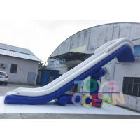 China Lazy Inflatable Backyard Water Slide Yacht Water Leisure Toys Durable 0.9mm PVC wholesale