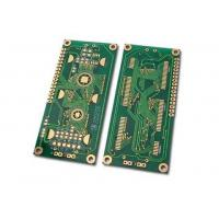 Buy cheap FR-4 , CEM-3 Double Sided PCB Buried & Blind Holes Immersion Silver / Gold from wholesalers