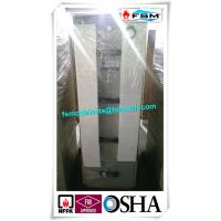 China Grey Steel Fire Resistant Filing Cabinets 4 Drawers For Valuable Records / Documents wholesale