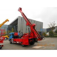 China G-3 High Mobility Truck Mounted Drilling Rig Hydraulic Chuck For Highway wholesale