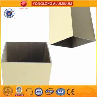 Rectangle Powder Coated Aluminium Extrusions / 6063 6063A Aluminum Window Frame Profile