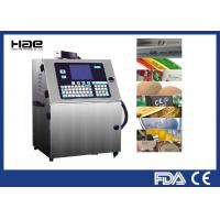 China Continuous Small Character Inkjet Coding Machine USB Interface For Food Industry wholesale