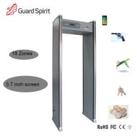 China LCD Display Door Frame Metal Detector 18 Zone Low Consume For Security wholesale