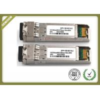 China 10G SM Duplex port optical transceiver SFP+ compatible Cisco SFP-10G-LR wholesale