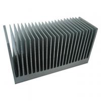 Quality Extruded Aluminum Heatsink Extrusion Profiles , 6061 / 6005 Aluminum Heatsinks for sale