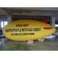 China inflatable air yellow blimp with red wings for sale wholesale