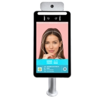 China IP65 IPS HD Display Face Recognition Temperature Scanning Device wholesale