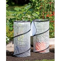 China Pop-up grow bag Garden Plant Accessories polyethylene greenhouse fabric and mesh for tomato wholesale