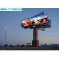China Lightweight Full Color Outdoor Advertising Led Display Billboard P6.4-12.8mm wholesale