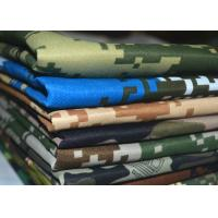 China Bright - Colored Twill Patterned Polyester Fabric Resistant Dirt Easy Cut wholesale